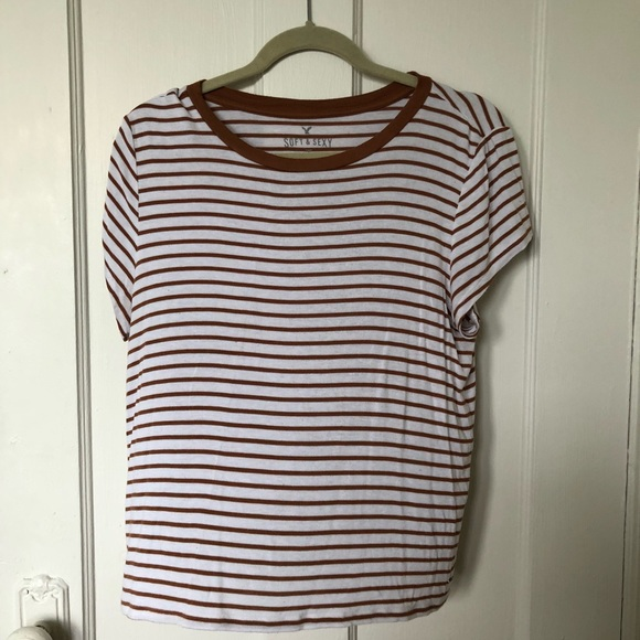 1fd7841e35d American Eagle Outfitters Tops - AEO Soft   Sexy Striped Tee
